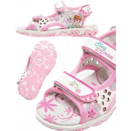 Sandali da bambina Frozen anna e elsa Disney *24136 Calzature Cartoni Animati pelusciamo store