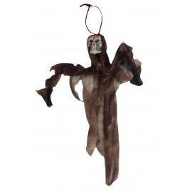 Accessorio da arredo Halloween - Piccolo teschio da appendere | Pelusciamo.com