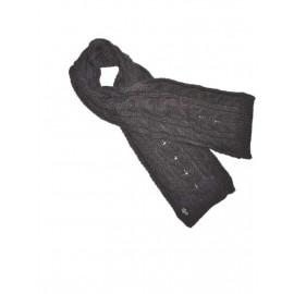 Sciarpa invernale Juve treccia abbigliamento ufficiale Juventus *02221