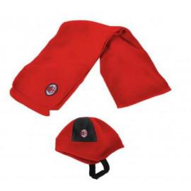 Abbigliamento Milan gadget tifosi cappello + sciarpa baby Milan *03327
