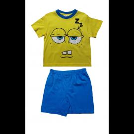 Completo Bambino Spongebob, T-shirt e pantaloncini Bimbo *13253