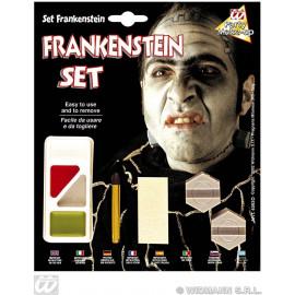 Set Trucco con Accessori da Mostro  PS 24591 Halloween, Frankenstein