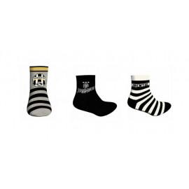 Set regalo Juventus 3 paia di calze abbigliamento tifosi Juve *22127