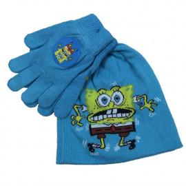 Set Invernale Bambino Spongebob Cappello Guanti | pelusciamo.com