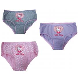 Set 3 Slip Lunapark Bambina Hello Kitty Multicolore Abbigliamento Bimba | Pelusciamo.com