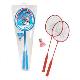 Set Badminton Racchette Con Volano 06728 giochi da spiaggia PELUSCIAMO STORE
