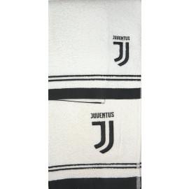Set Bagno Juventus 2 Asciugamani Piccolo E Grande PS 01714 Logo Nuovo JJ