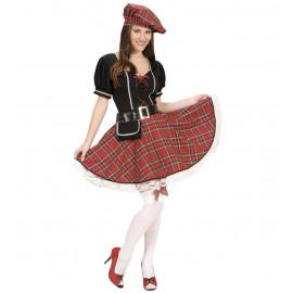 Costume Carnevale Donna Sexy Scozzese   | Pelusciamo.com