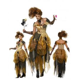 Costume Halloween Carnevale Donna Bella Horror Smiffys  *18617 Bella e la Bestia