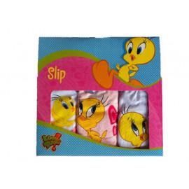 1 confezione con 3 paia di Slip girl Baby Looney Tunes *13442