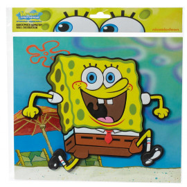 Adesivo 3D Spongebob Squarepants 26x26 cm.arredo casa  *04851