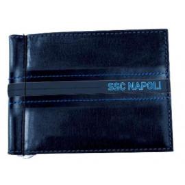 SSC Napoli Porta Dollaro Uomo In Pelle Tifosi Napoletani PS 11279