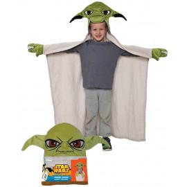 Accappatoio coperta Star Wars Yoda qualita velour gadget guerre stellari *02026