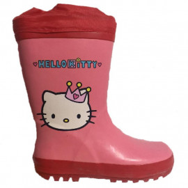 Stivaletti In Gomma Bambina Stivali Hello Kitty PS 08329