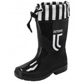 Stivali In Gomma Nuovo Logo Juventus PS 09133 Stivaletti Da Pioggia Pelusciamo Store Marchirolo