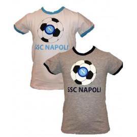 T-shirt prima infanzia neonato bimbi Pallone Napoli calcio *16249