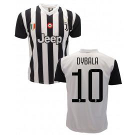 Maglia Bambino Calcio Dybala 10 Replica Juventus 2017/2018 PS 25291