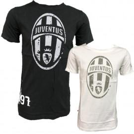 T-shirt Juventus Calcio Abbigliamento Retro' Juve PS 26995 Logo Storico Pelusciamo Store Marchirolo