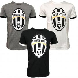 Maglietta Juventus Calcio Abbigliamento T-shirt Juve PS 26965 Logo Storico