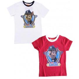 Maglietta Bambino Paw Patrol, T-shirt maglia Chase Bimbo  | Pelusciamo.com