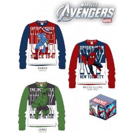 T-shirt bambino The Avengers Marvel Hulk Spiderman C. America *21787