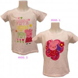 Abbigliamento bambini cartoni animati T-Shirt maglietta Peppa Pig *16570