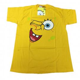T-shirt Ragazzo Spongebob con Sorriso, Maglietta maniche corte *11576