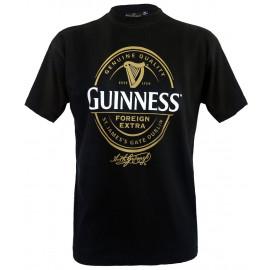 T-Shirt  Maglietta Uomo Logo Guinness beer birra *09280 pelusciamo.com