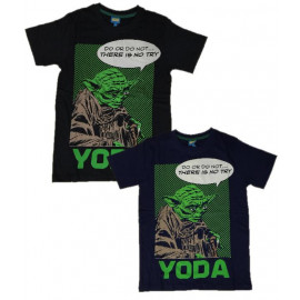 T-Shirt Yoda Star Wars, Maglia Uomo Guerre Stellari PS 23290
