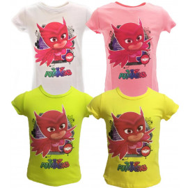 Maglietta Bimbo SuperPigiamini Pjmasks T-shirt Pj Masks PS 25114