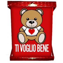 Targa orsetto teddy love ti voglio bene idea regalo per san valentino 04964 pelusciamo store