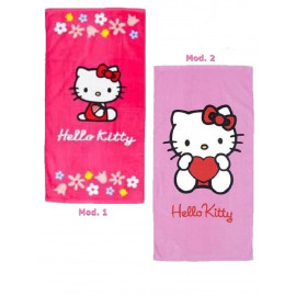 Telo Hello Kitty 50x100 cm asciugamano mare piscina | pelusciamo.com