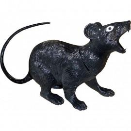 Accessorio per arredo Halloween  Ratto nero Smiffy's | Pelusciamo.com