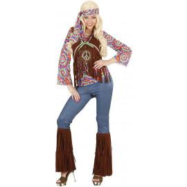 Costume Carnevale Donna Hippie,  Anni 60  | Pelusciamo store
