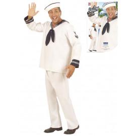 Costume Carnevale uomo Marinaio Travestimento Marina Militare | pelusciamo.com