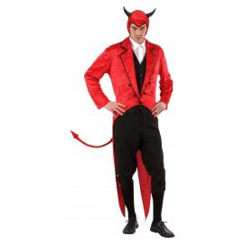 Travestimento Halloween Mister Lucifero Frac E Copricapo PS 25622 Pelusciamo Store Marchirolo