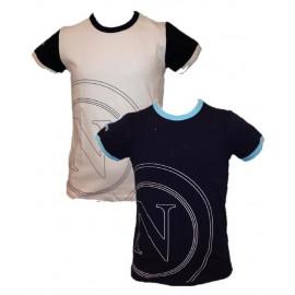 T-shirt prima infanzia neonato bambino N Napoli calcio *16237