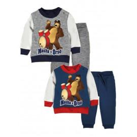 Completo Tuta Bimbo Masha e Orso *20478 Abbigliamento Primaverile | Pelusciamo.com