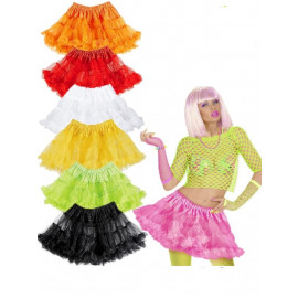 Accessori Costume Carnevale Sottogonna Tutu Colorati Ballerina PS 19701