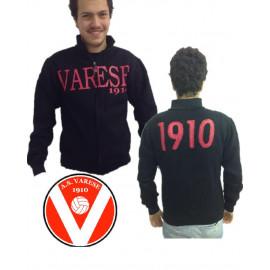 Felpa uomo nera Varese calcio 1910 Abbigliamento Adulto tifosi *19138 pelusciamo store