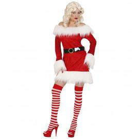Vestito Velluto da Babba Natale , Babbo Donna  | pelusciamo.com