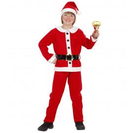 Costume Bambino Abito Babbo Natale | Pelusciamo.com