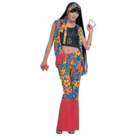 Costume Carnevale Donna Figli Dei Fiori, Festa Anni 60 | Pelusciamo store