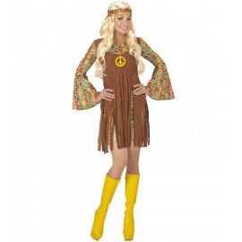 Costume Carnevale Donna Hippie, Ragazza  Anni 60  | Pelusciamo store