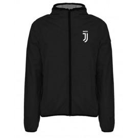 Giacca Antivento Bambino Juventus Windstopper Juve Nero PS 22370 Pelusciamo Store Marchirolo