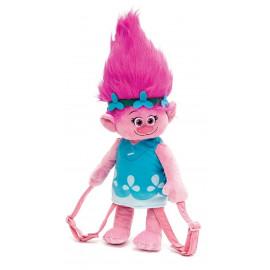Zainetto In Peluche Trolls Poppy 3d Con Tracolla Regolabile PS 02978 Pelusciamo Store Marchirolo