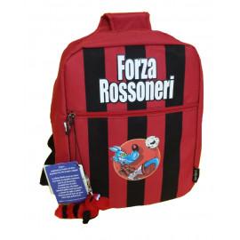 Zaino Scuola Monospalla Rossonero - Lupo Alberto *08625