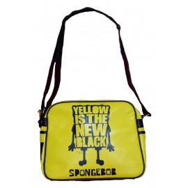 Zaino scuola Tracolla Spongebob gialla e nera *10053