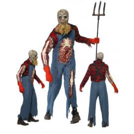 Costume Halloween Carnevale Adulto Zombie Alieno Hillbilly Smiffys