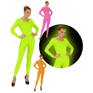Tuta Donna Calzamaglia Fluorescente Accessori Carnevale PS 26544 Pelusciamo Store Marchirolo